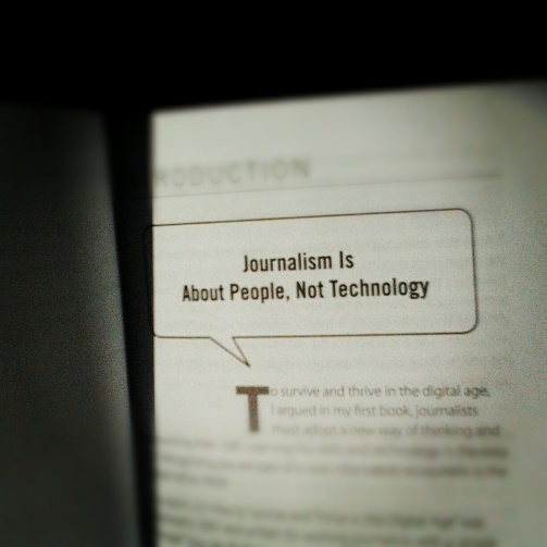 Journalism Is About People, Not Technology